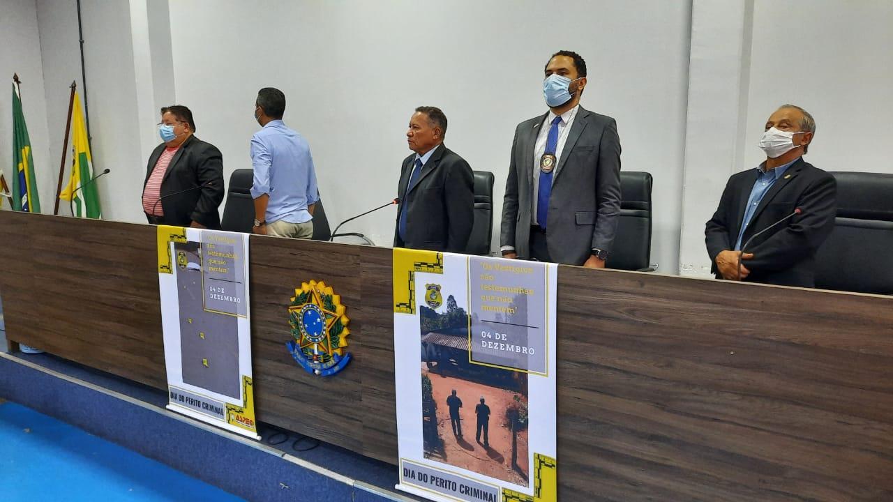 Sessão solene homenageia Peritos Criminais