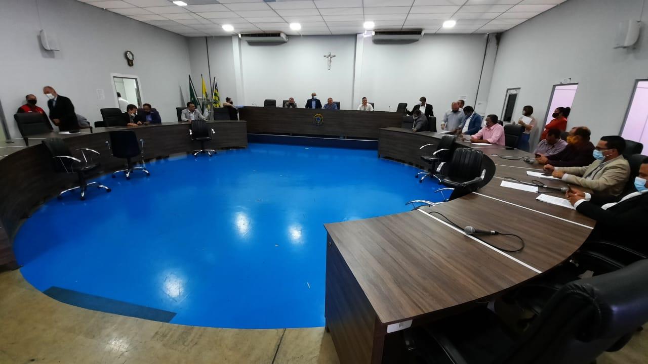 Câmara promove sessão extraordinária para aprovar projetos do Executivo