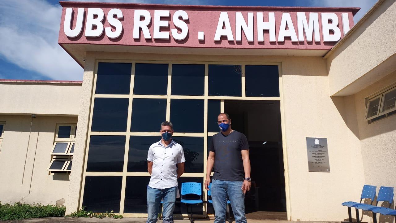 Comissão de Saúde fiscaliza UBS do Residencial Anhambi